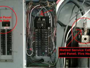 A Hot Electric Panel Is Not Good!