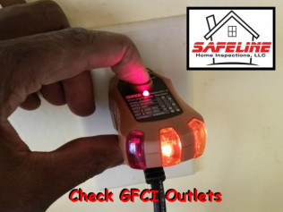 Check your GFCI outlets monthly