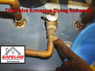 TPR Valve Extension Piping Reduced!