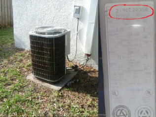 How old is the AC unit?