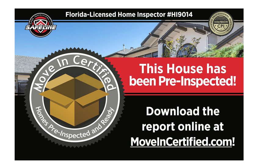 Advertise your house as Move-In Certified!